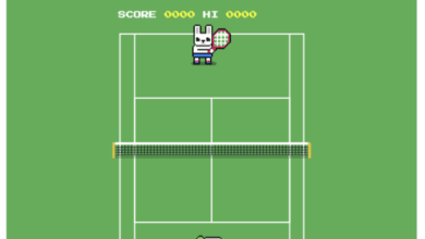 Photo of Easter Egg : Google a un jeu de tennis caché !