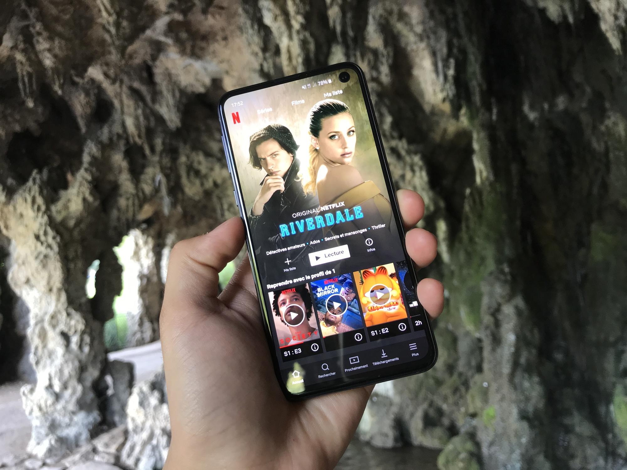 Netflix Samsung Galaxy S10e