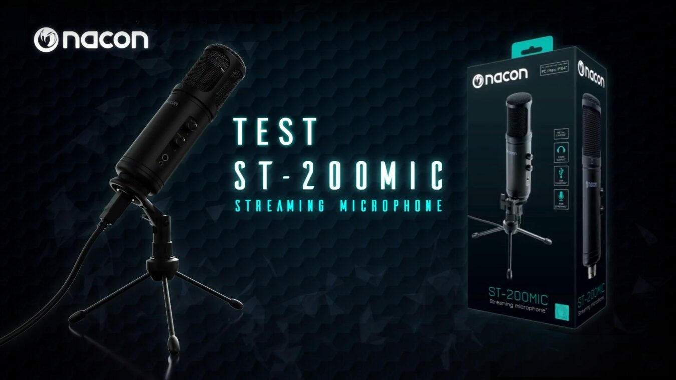 Microphone Nacon ST-200 MIC