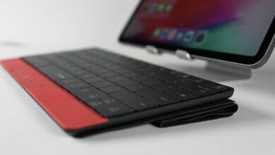 Photo of Mokibo : le clavier 2-en-1 qui intègre un touchpad