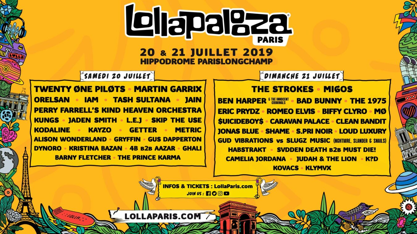Photo of Lollapalooza Paris 2019 : 2 jours de folie à la 3ème édition !