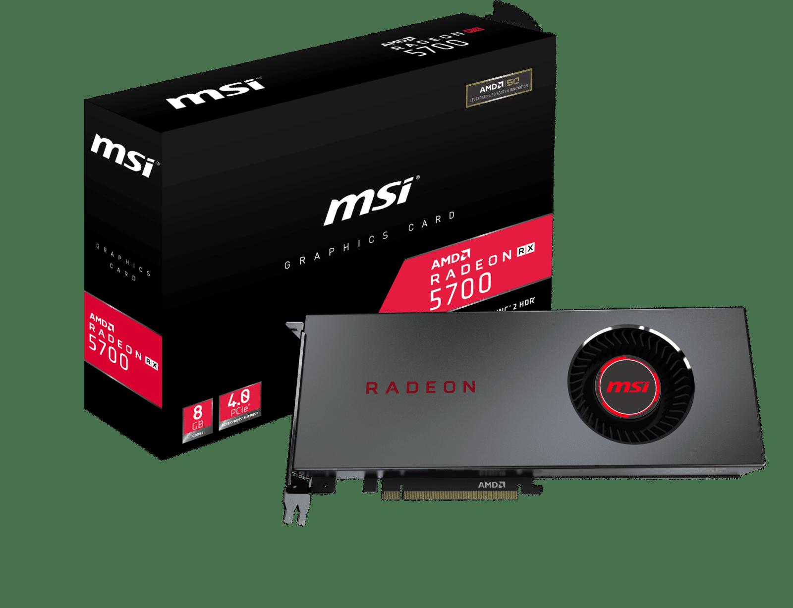Photo de MSI annonce l'arrivée des Radeon RX 5700