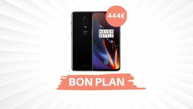 Photo of Bon Plan – Le smartphone OnePlus 6T passe à 444€ !