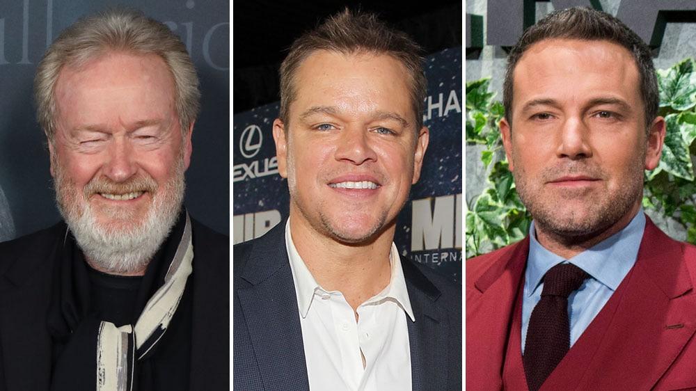 Ridley Scott, Matt Damon et Ben Affleck - The Last Duel