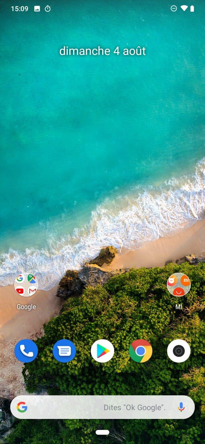 Accueil Xiaomi Mi A3