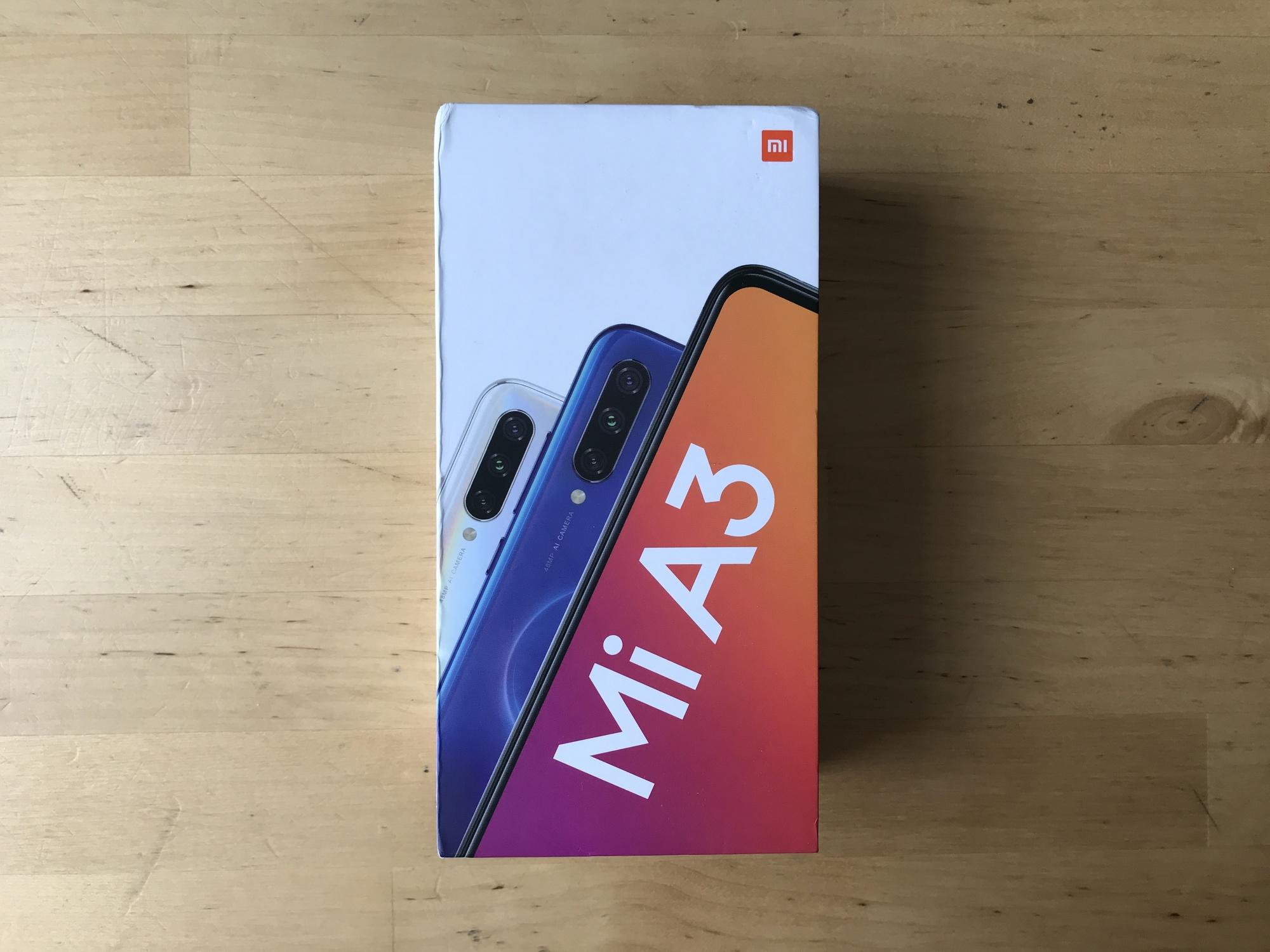 Boîte Xiaomi Mi A3