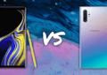 Comparaison Samsuang Galaxy Note 10