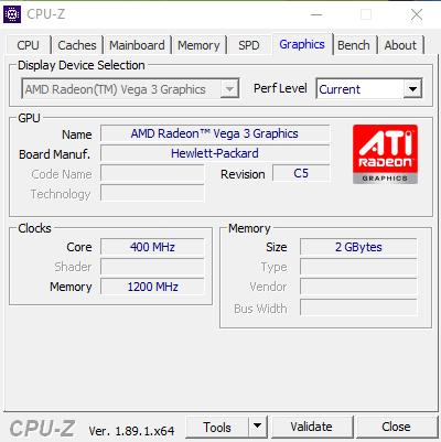 GPU HP 24-F1011NF