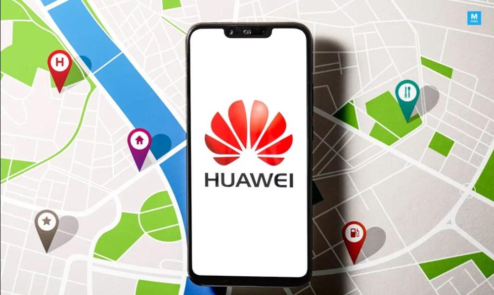 Huawei Google Maps