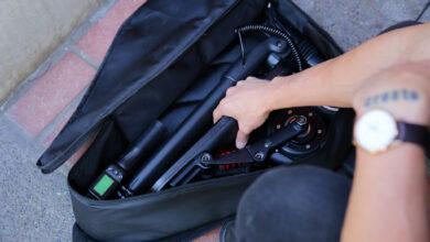 Photo of MiniFalcon : Le E-Scooter qui se transporte dans un sac