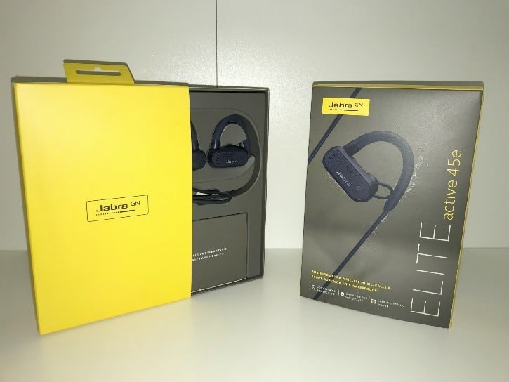 Emballage JABRA ELITE active 45e