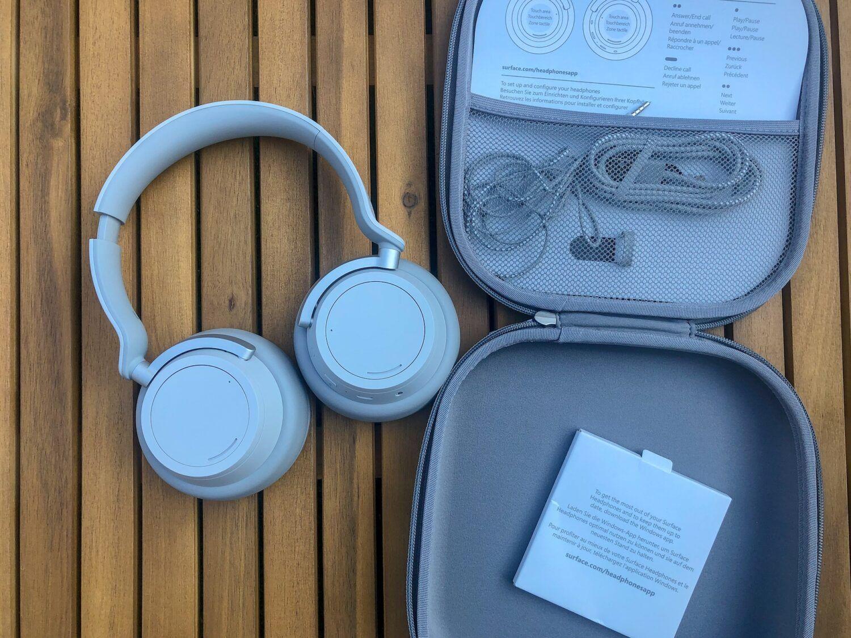 contenu casque surface headphones