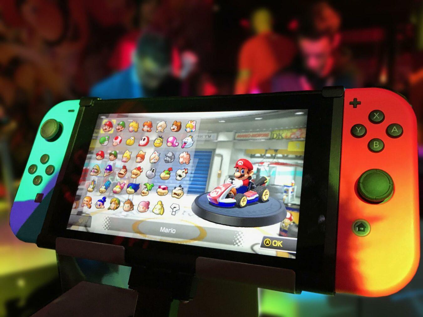 Nouveau modèle Nintendo Switch