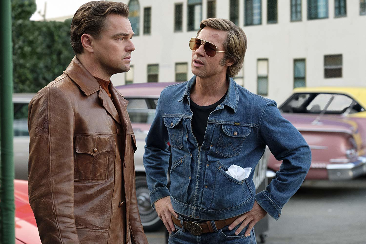 Brad Pitt, Leonardo DiCaprio, Once Upon A Time In Hollywood,
