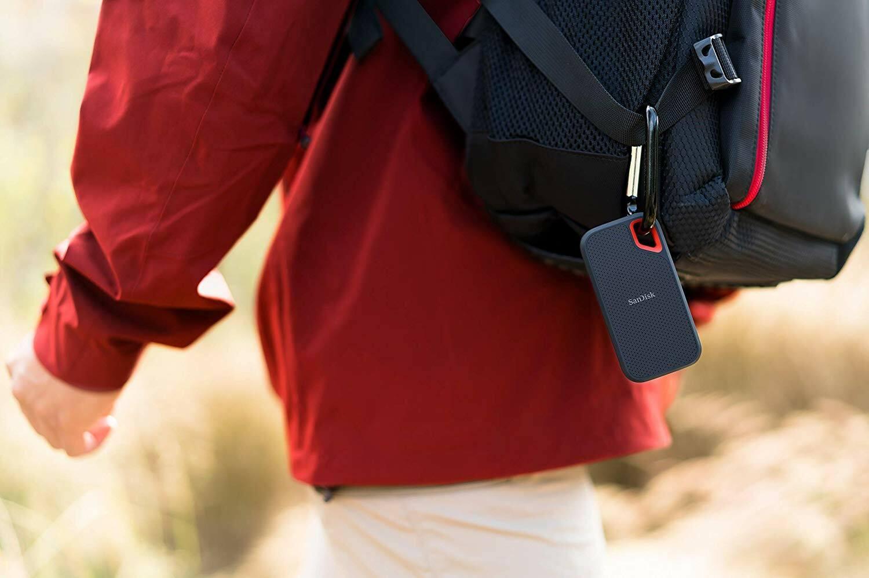 SanDisk Extreme Portable SSD selection accessoire rentrée high-tech