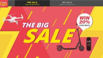 Big sale promo code Geekbuying