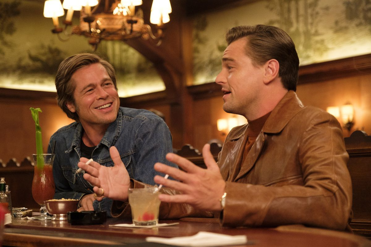 "Bradd Pitt et Leonardo DiCaprio dans ""Once Upon A Time... In Hollywood"""