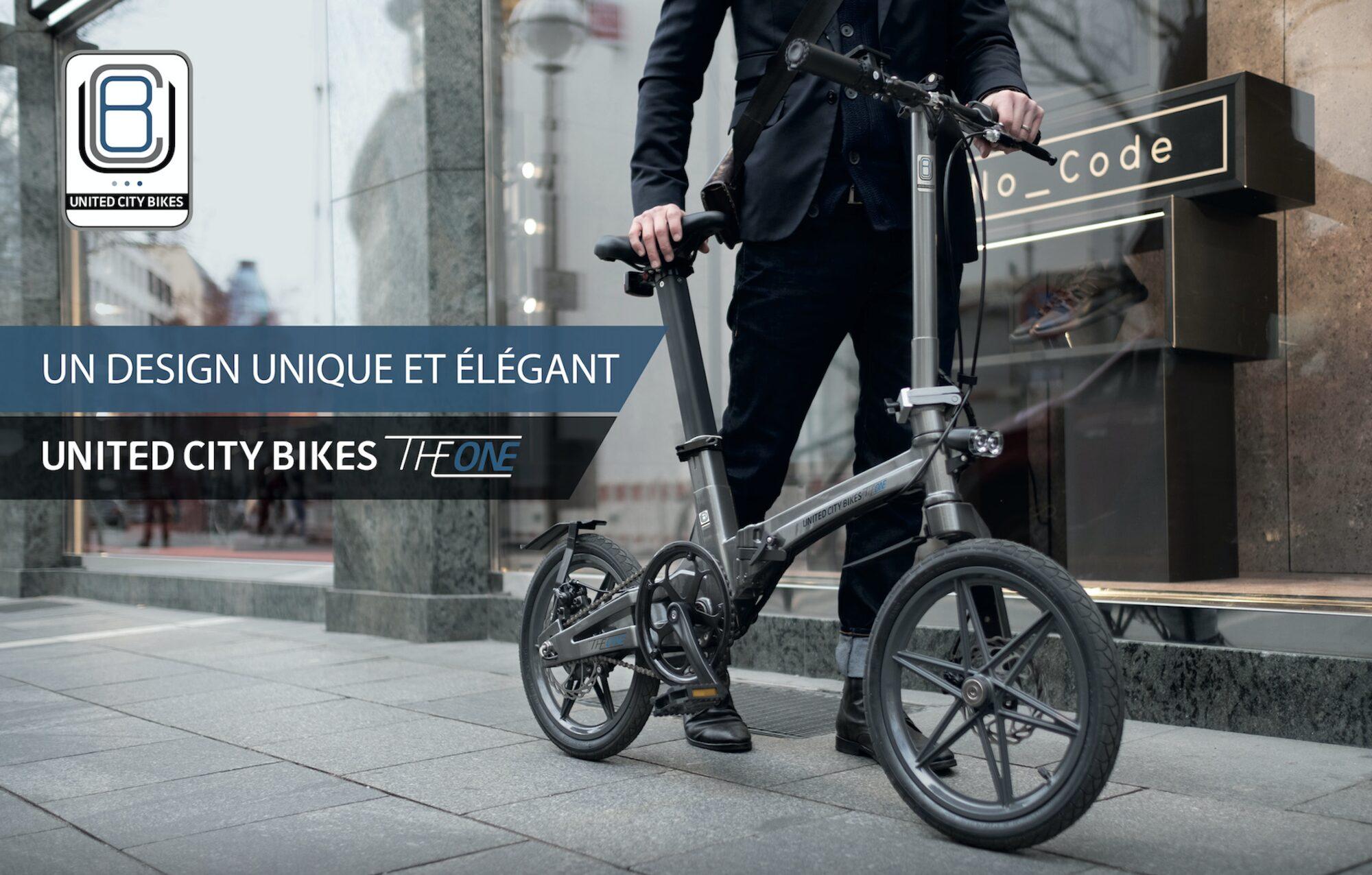 vélo the one déplié