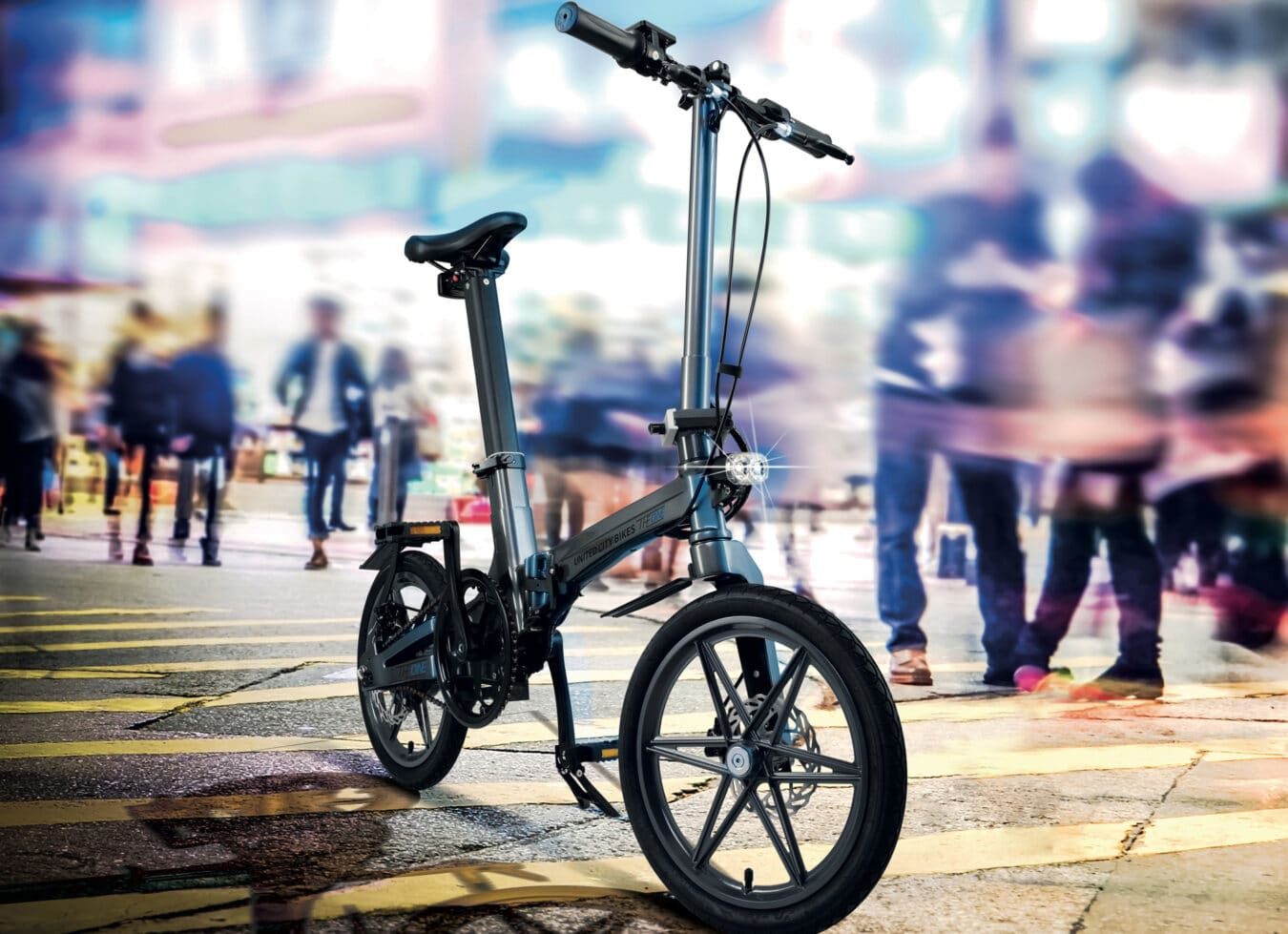 Photo de The One : Le vélo électrique VAE pliable le plus léger