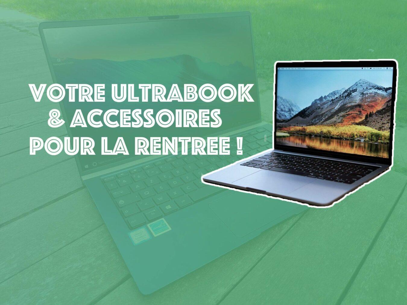 Photo de Votre ultrabook et ses accessoires pour la rentrée à la Fac !
