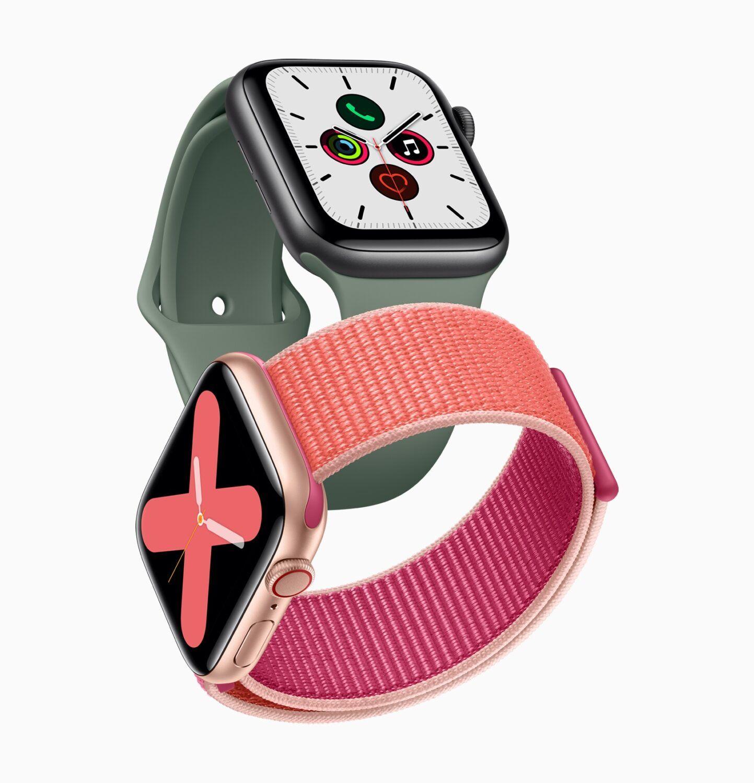 Apple Watch 5 annonce keynote