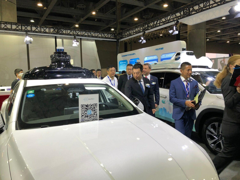 IFA CE CHINA voiture autonome AUTO X
