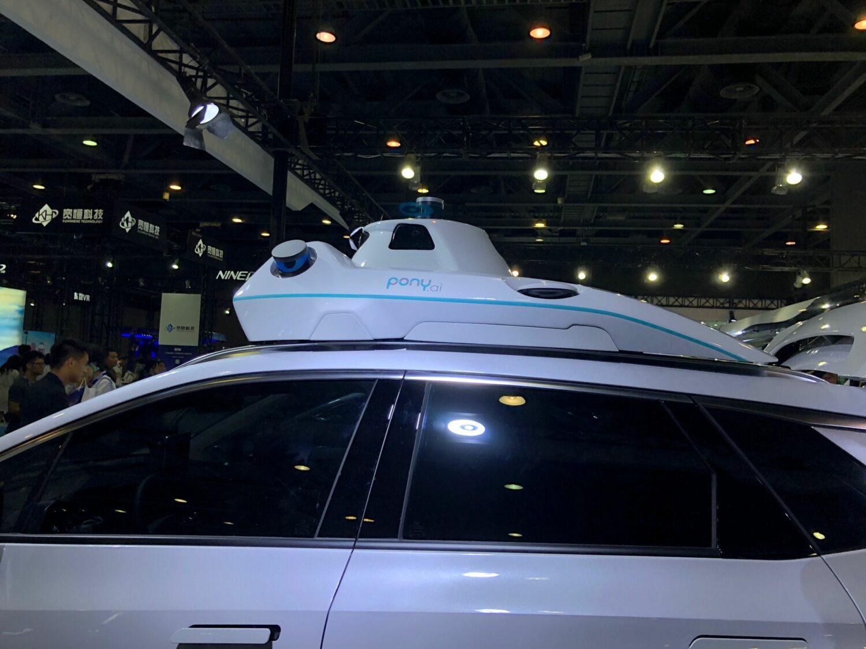 Pony AI voiture autonome