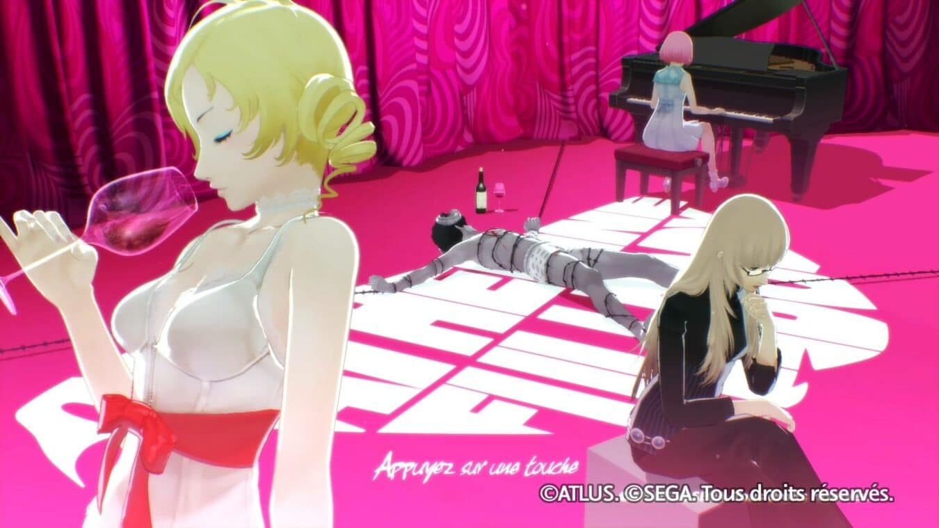 Photo de Test – Catherine Full Body (PS4) : Tromperies et reflexions