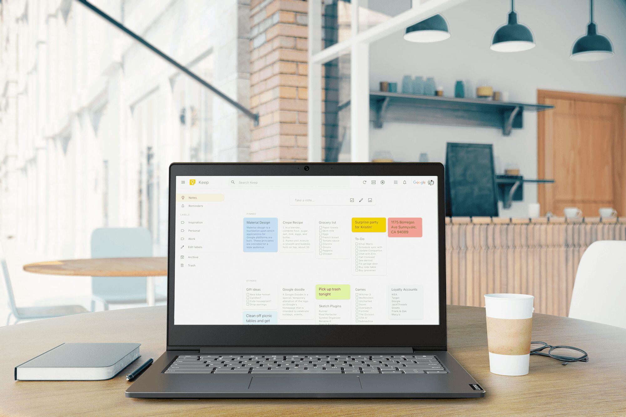 Le nouveau Lenovo Chromebook S340  // IFA 2019