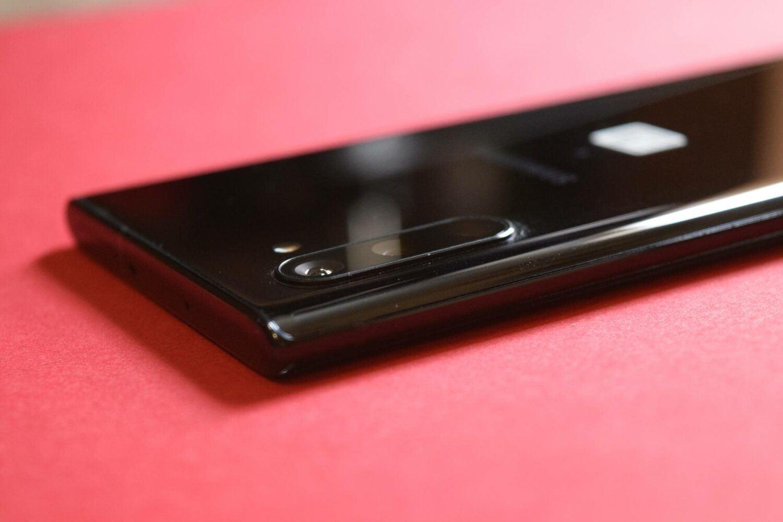 Les trois capteurs photos du Samsung Note 10
