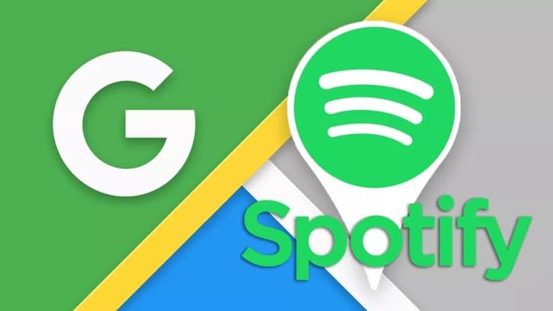 Spotify demande votre localisation Google