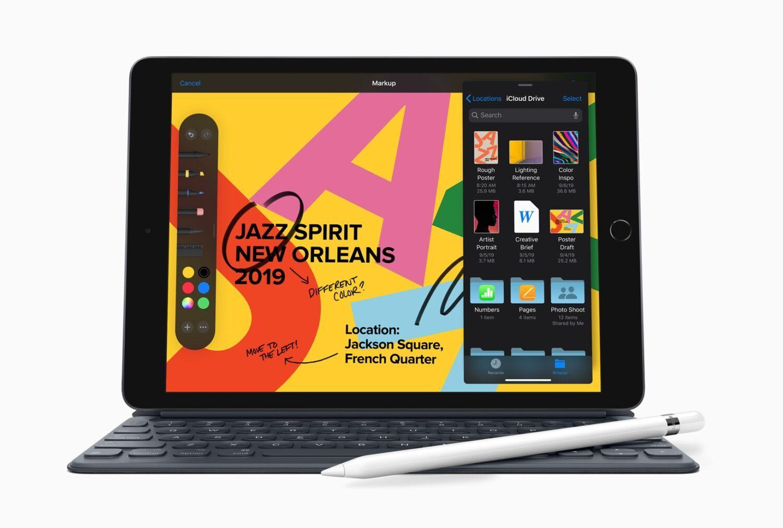 Apple iPad 7 annonce Keynote
