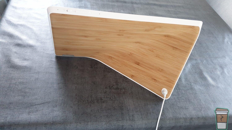 Test Lenovo Smart Display - Vue de la face arrière