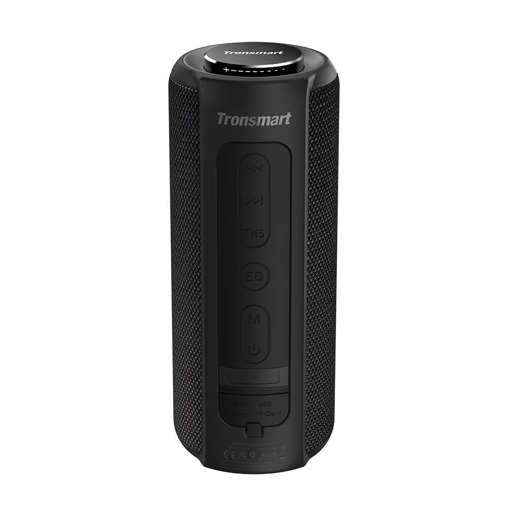Tronsmart enceinte Geekbuying bon plan tech promo code téléphone bluetooth force tronsmart t6 plus wateproof batterie son audio musique spotify
