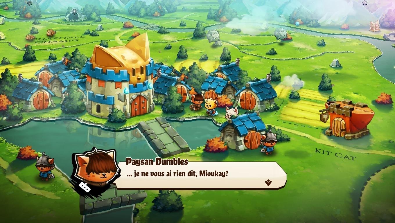 Test Cat Quest 2 - Dialogues et jeu de mots RPG