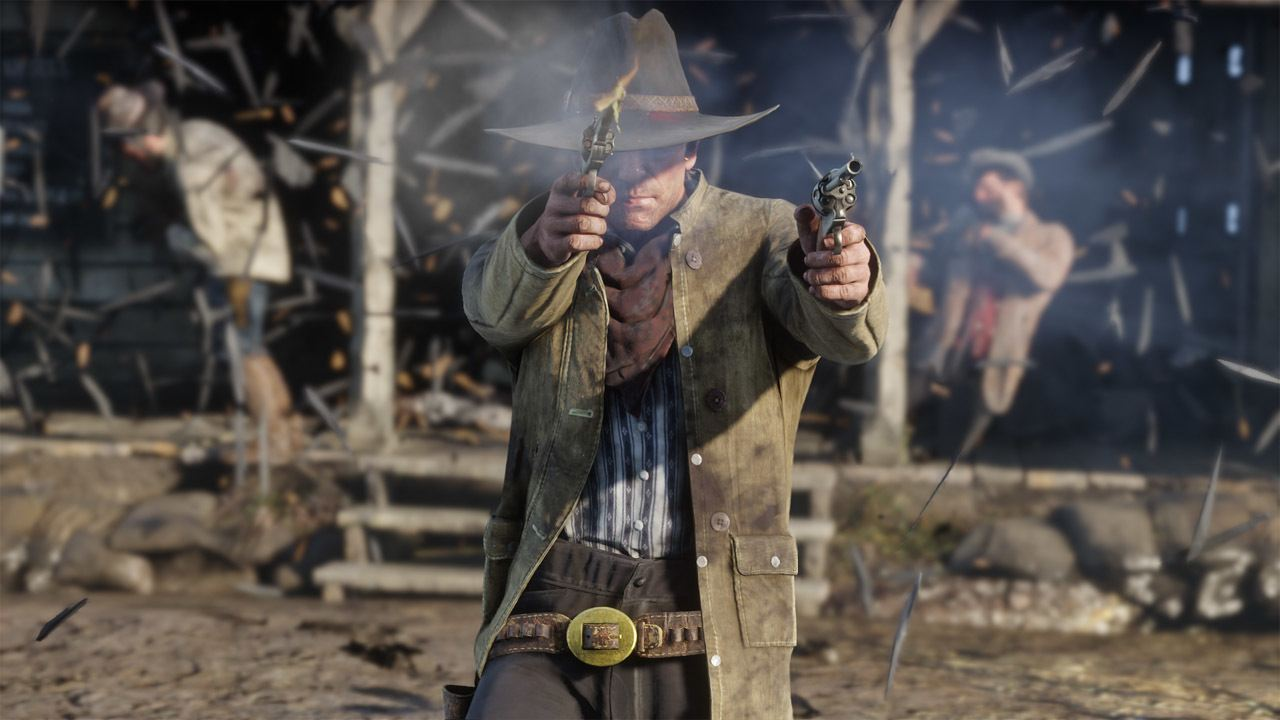 RDR2 shoot