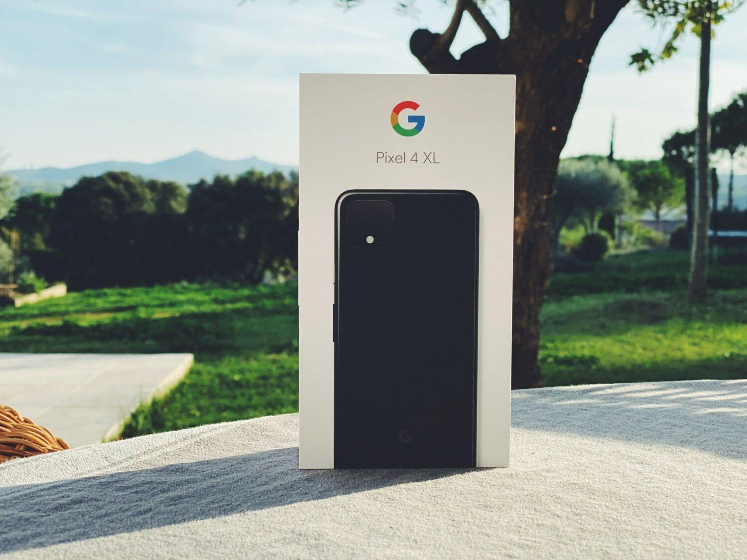 Google Pixel 4 XL boite packaging