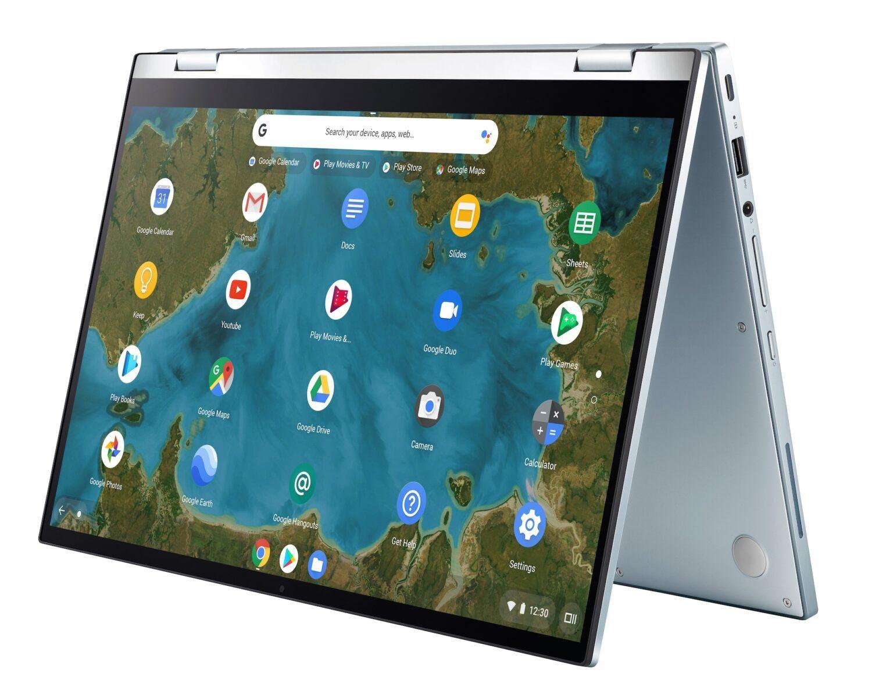Asus Chromebook Flip C433 Ordinateur 360 ouvert