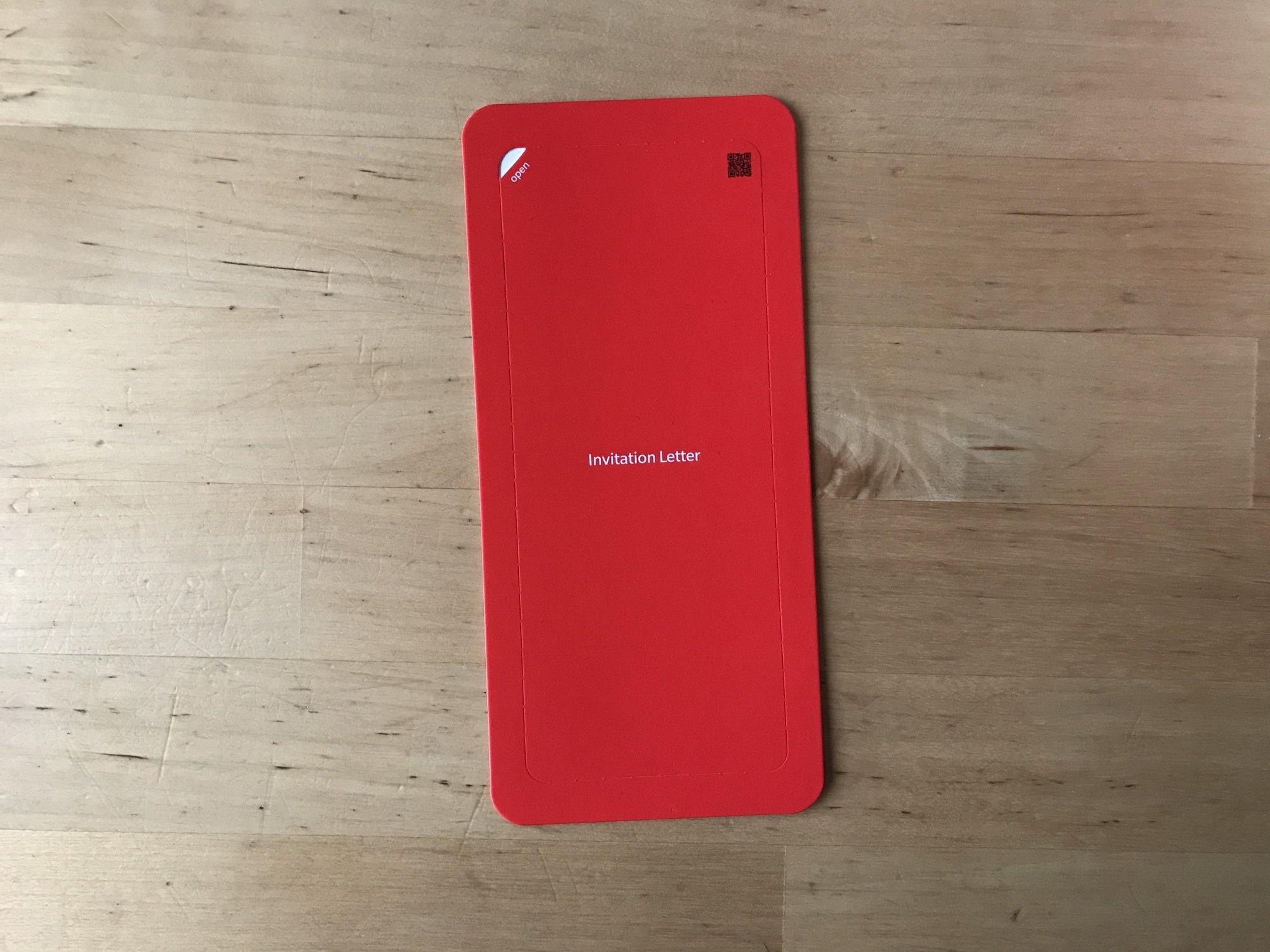 Carton de bienvenue Oneplus 7 Pro