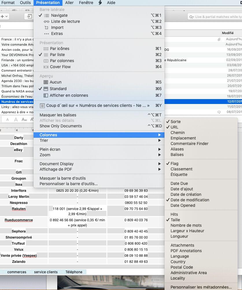 DEVONthink GED Mac iPhone iPad