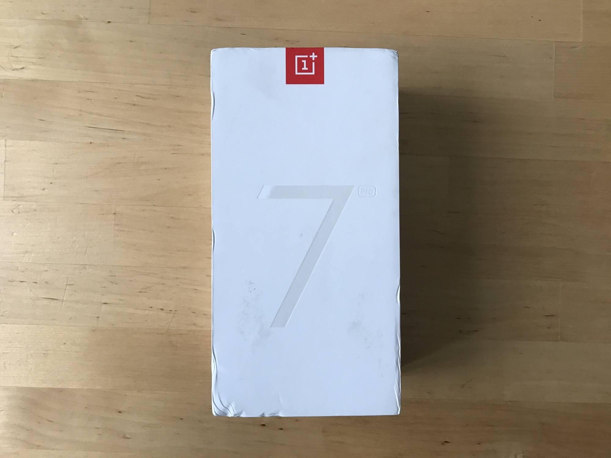 Boîte avant du Oneplus 7 Pro
