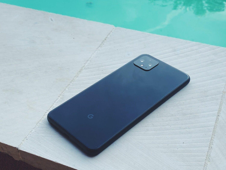 Google Pixel 4 XL dos verre noir appareil photo