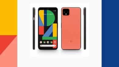 Google Pixel 4 - Avant et arrière