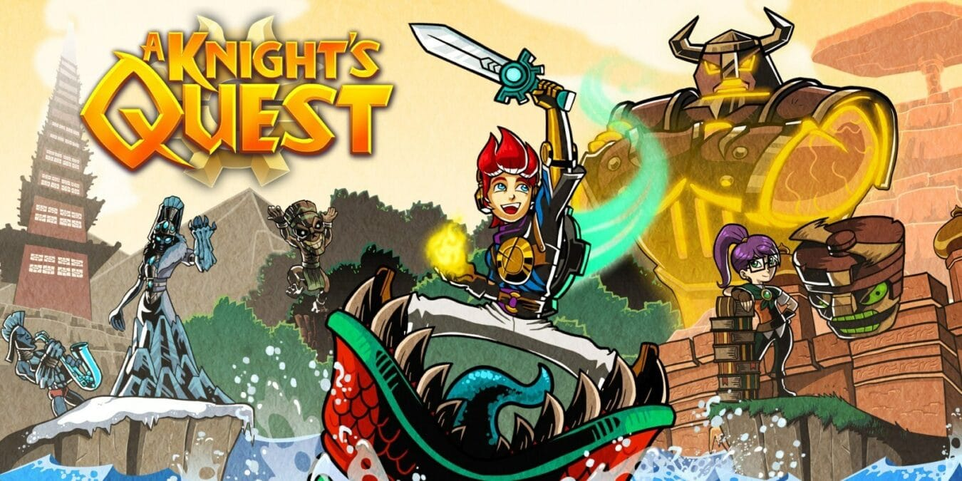 Photo de Test de A Knight's Quest – Le petit RPG s'inspirant de BotW