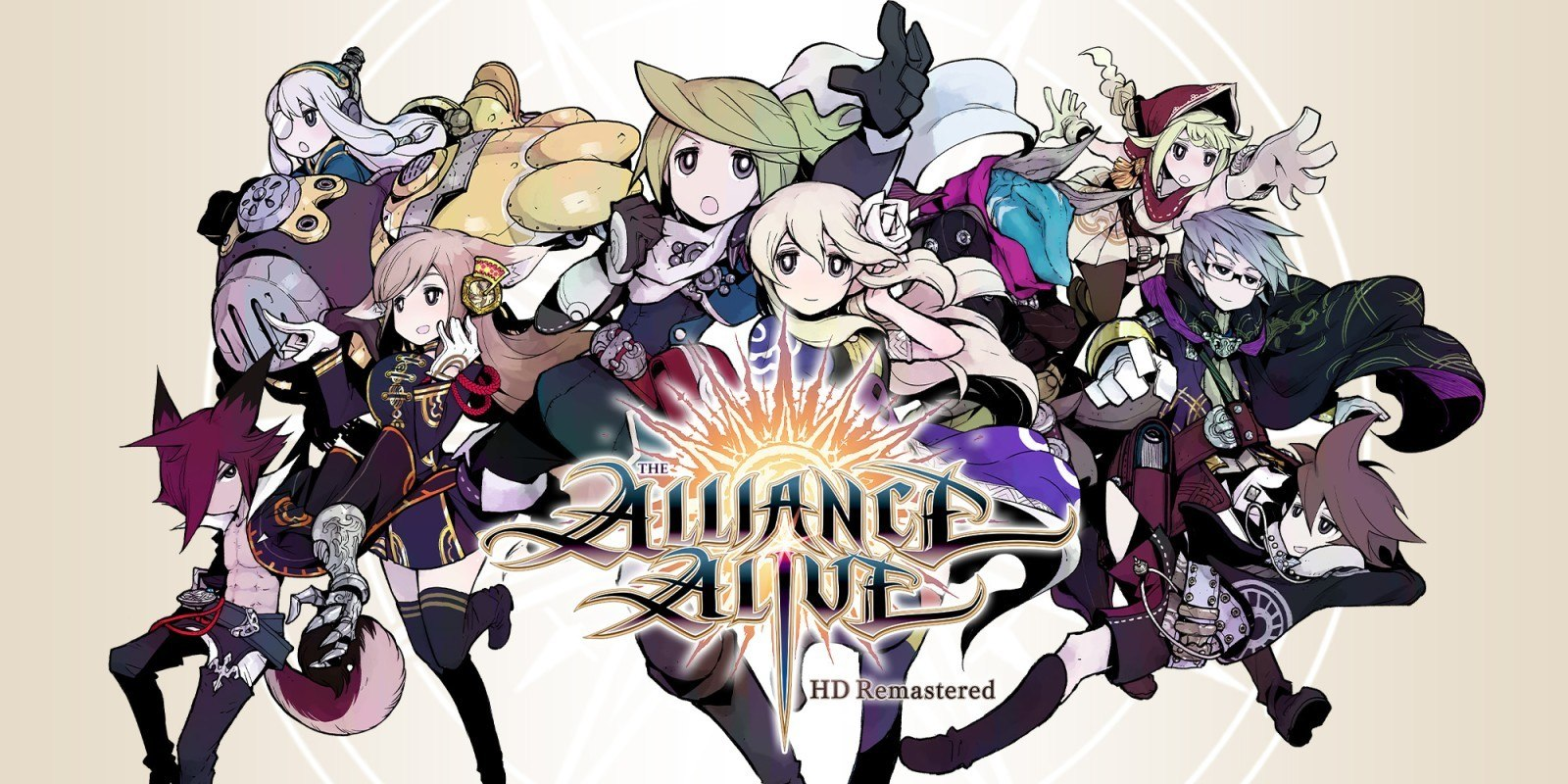 Test The alliance alive HD Remastered Ps4-Titre