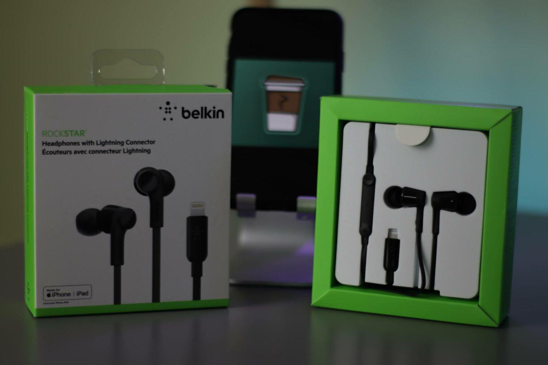 Déballage écouteurs ROCKSTAR de Belkin