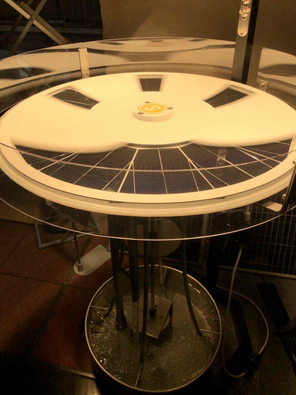 Saurea startup solaire photo de la solution ou prototype