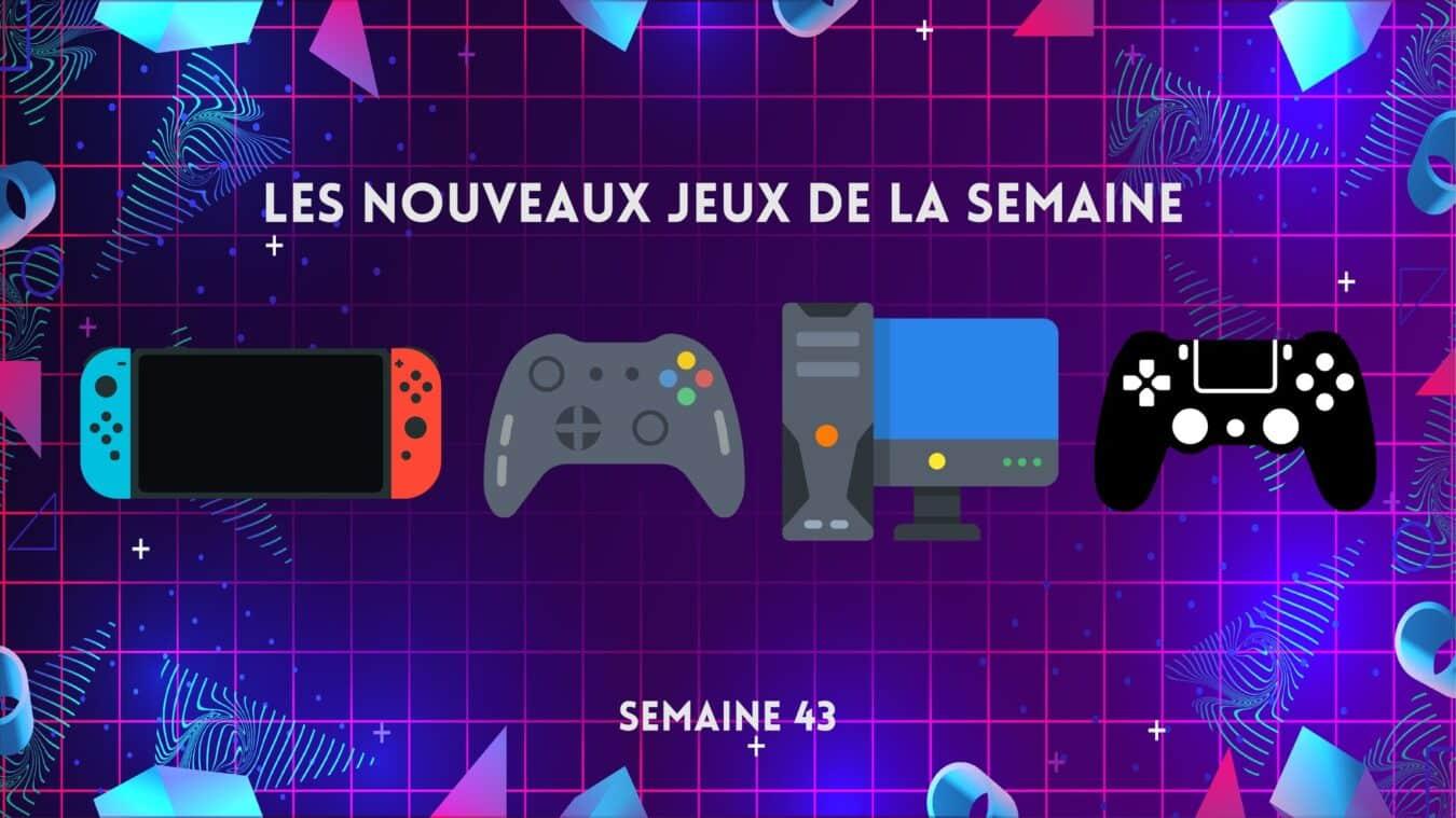 Photo of Les sorties jeux vidéo de la semaine – 21/10 au 27/10