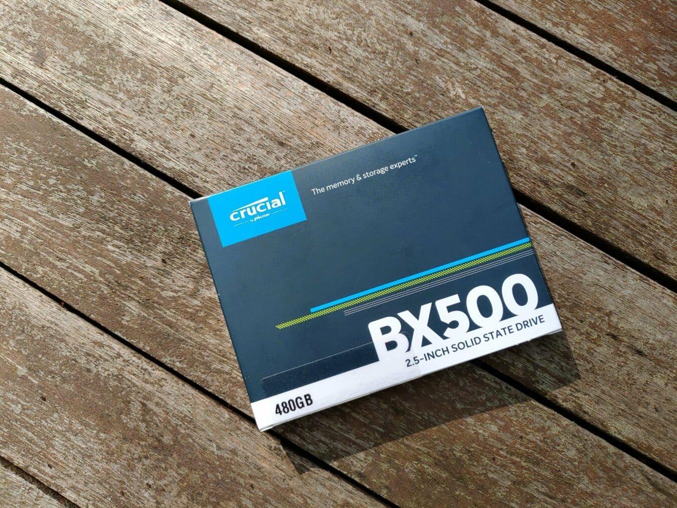 BX500 vue boite dessus