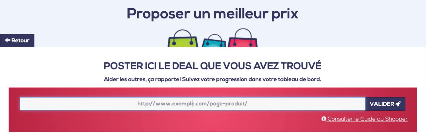 CrossShopper Deal publication